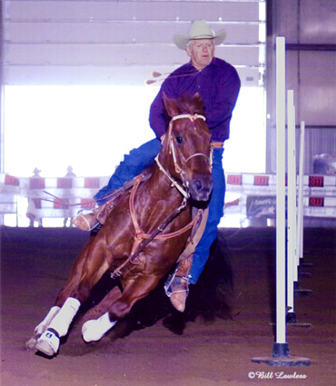 Ashes On The Money Pole Bending Futurity Champion