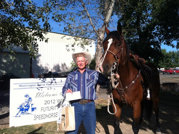 Bugged By Magic, 2012 WBRA Speedhorse Pole Bending Futurity Reserve Champion