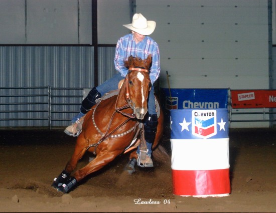 Cowgirl In The Money - Barrel Horse performance photo